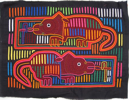 Animal Mola from Panama
