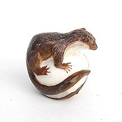 Mammal Tagua Carving from Panama